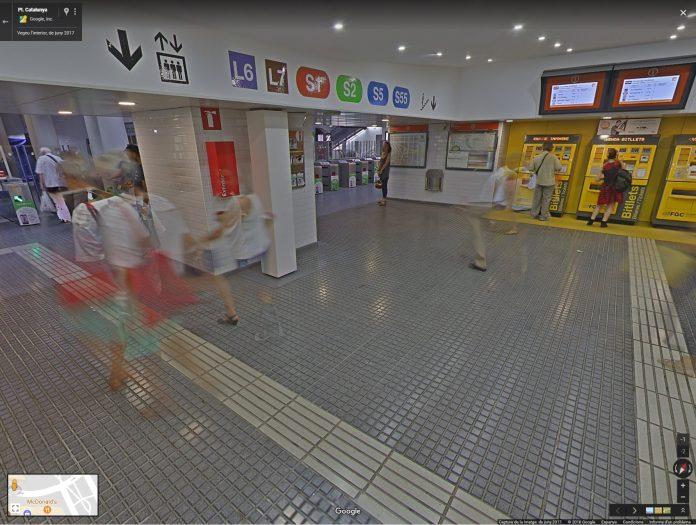 Google StreetView Pl. Catalunya   Generalitat de Catalunya