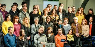 Moment del parlament d'en Marcel Mauri | Òmnium Cultural