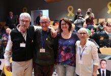 La nova direcció de l'ANC escollida en el la reunió del secretariat constituent| Assemblea Nacional Catalana