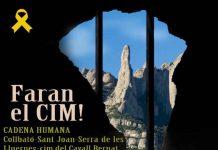 Cartell de la nova acció de la Crida a la Solidaritat, Faran el CIM!