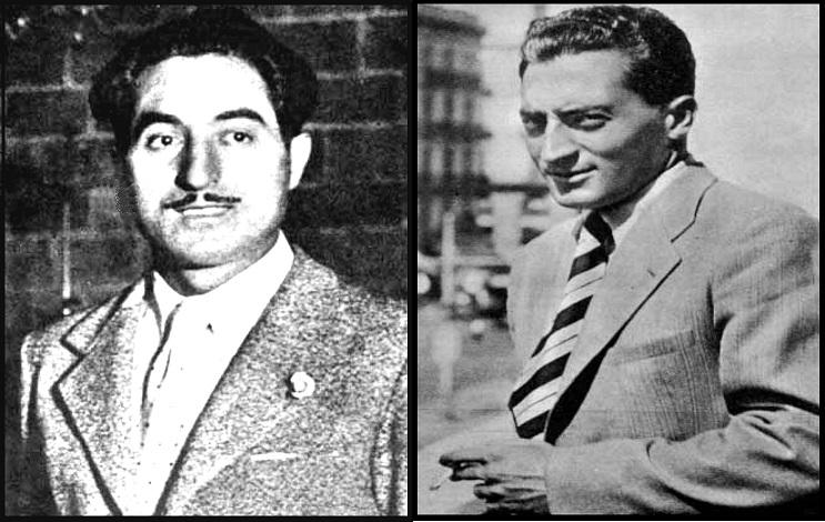 Els germans Badia: En Josep i en Miquel Badia.