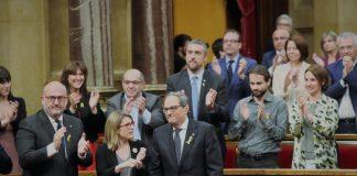 Quim Torra després de ser investit President   Parlament de Catalunya (Miquel González de la Fuente)