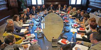 La Mesa i la Junta de Portaveus reunides   Parlament de Catalunya