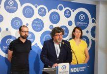 Roda de premsa del partit demòcrata presentant els resultats de la consulta sobre les Primàries Barcelona | Demòcrates de Catalunya