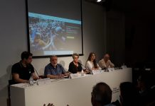 Roda de premsa de presentació de l'associació afectats1O.cat | Llorenç Prats