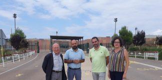 Representants de les entitats de la federació a Lledoners en la visita a Jordi Cuixart | Òmnium Cultural