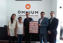 Una delegació ha visitat el president d'Òmnium Cultural a Lledoners quan fa 11 mesos que està en presó preventiva   Òmnium Cultural