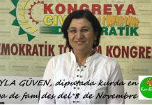 Leyla Güven, en vaga de fam des del 8 de novembre de 2018
