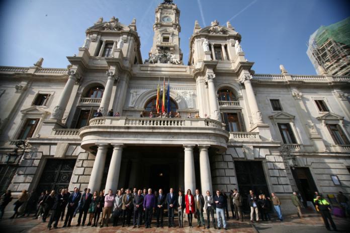 Façana de l'Ajuntament de València