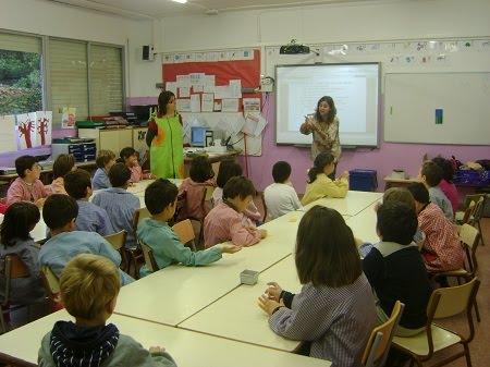Aula d'educació primària de l'escola Catalunya (Sabadell)
