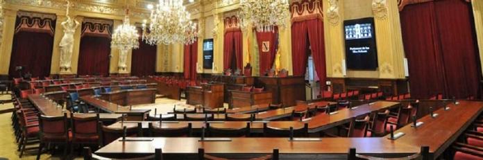 Interior del Parlament de les Illes Balears