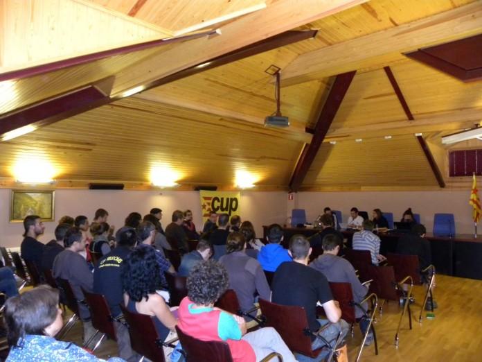 Consell Polític de la CUP a la Vall Fosca   CUP