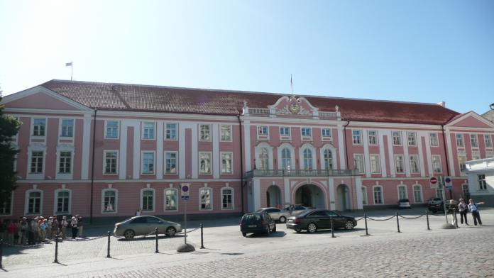 El Parlament d'Estònia (Foto: Brücke-Osteuropa)