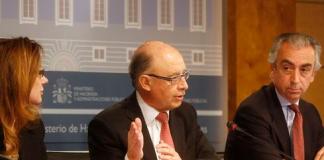 Roda de premsa del ministre d'hisenda (31/3/2016)