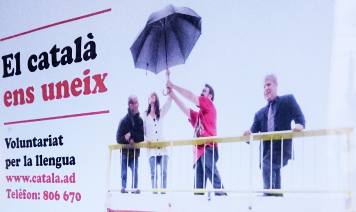 Cartell del Voluntariat per la llengua, Andorra