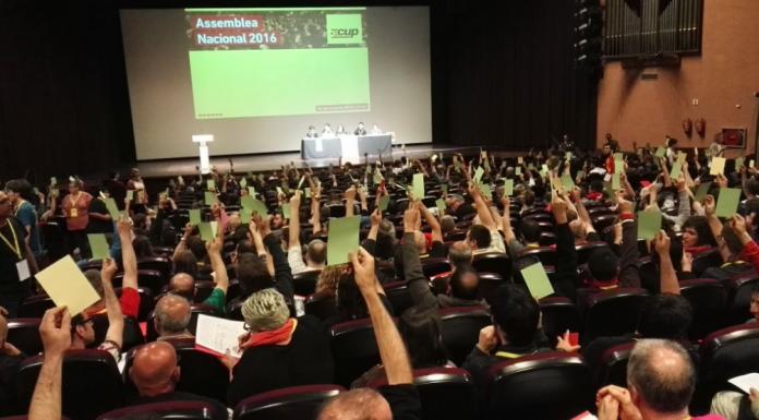 Assemblea Nacional de la CUP celebrada a Esparreguera el 2016