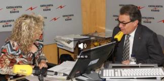 Entrevista de Mònica Terribas a Artur Mas