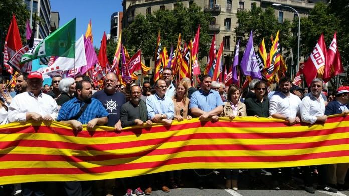Capçalera de la Manifestació del 29M | Govern