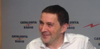 Arnaldo Otegi en una entrevista a Catalunya Ràdio (18/5/2016)