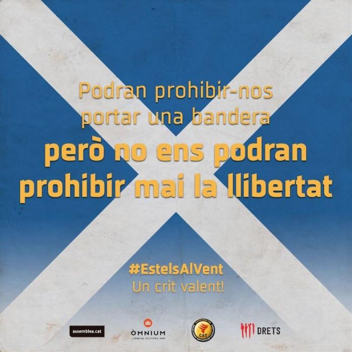 Campanya de les entitats sobiranistes al Calderón