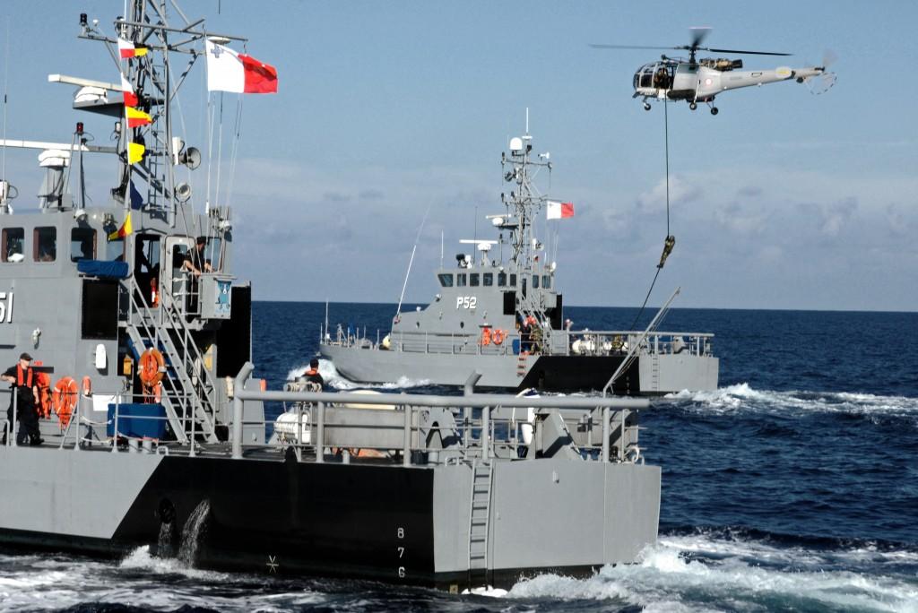 Esquadra marítima de les forces armades de Malta
