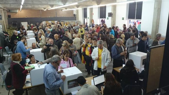 El poble votant el 9N