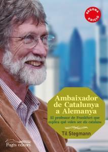 Ambaixador de Catalunya a Alemanya, detall de la coberta del llibre.