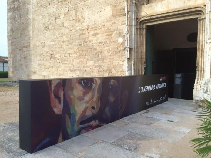 Entrada a l'exposició