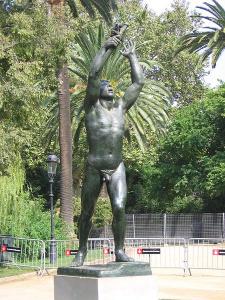 Monument als voluntaris catalans a la Ciutadella. Josep Clarà. Canaan.