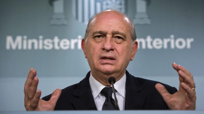 Jorge Fernández Díaz, Ministre de l'interior de l'Estat espanyol