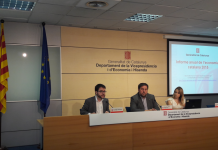 Presentació de L'informe anual de l'economia catalana 2015