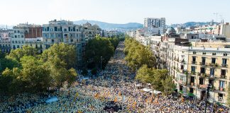 Manifestació 'Estem apunt' a Barcelona   ANC