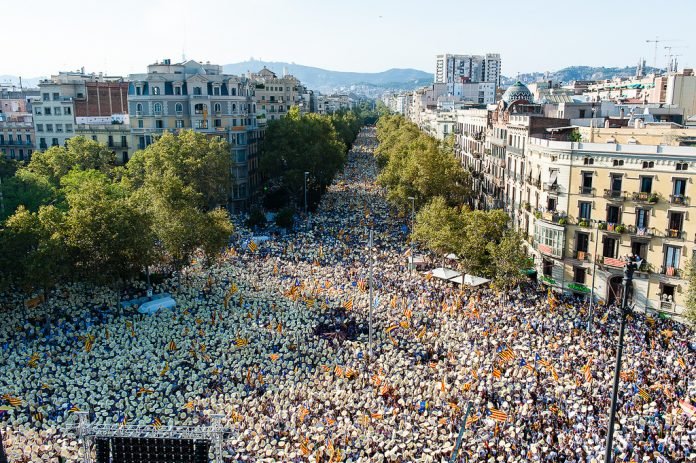 Manifestació 'Estem apunt' a Barcelona | ANC