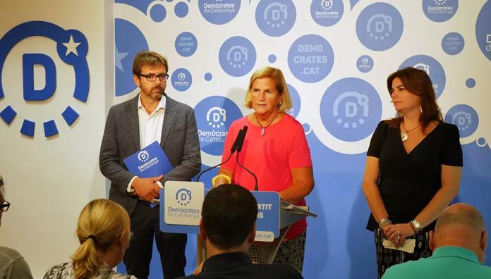 Roda de premsa de Demòcrates de Catalunya (5/9/2016)