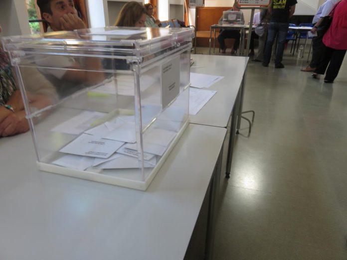 Mesa Electoral a Begur - Eleccions Municipals | Davidpar