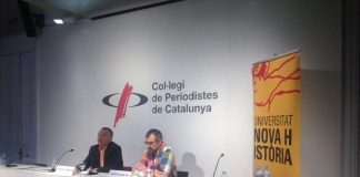 Presentació de la campanya de recollida de signatures
