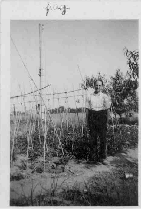 Deulofeu a la Villa Georges de Montpeller, 1941 Font: Juli Gutièrrez Deulofeu