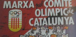 Cartell de la marxa pel Comitè Olímpic Català