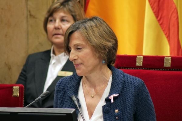 Carme Forcadell president una sessió del Parlament | Parlament de Catalunya
