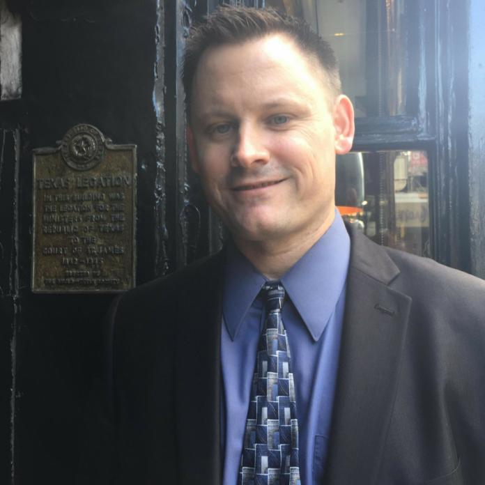 Nate Smith, executive director of TNM, Texas Nationalist Movement