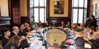 La Junta de Portaveus reunida aquest matí | Parlament de Catalunya