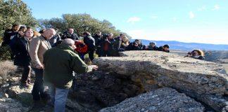 El conseller Romeva presenta el Pla de fosses 2017 a Figuerola d'Orcau