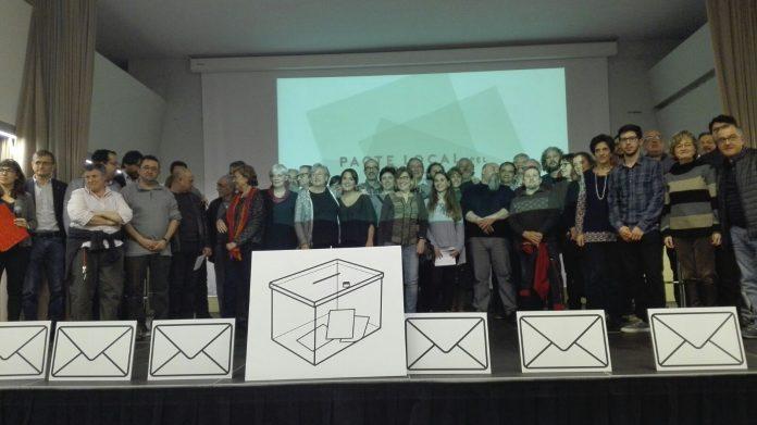 Foto de l'acte de presentació del Pacte | PLRBdn
