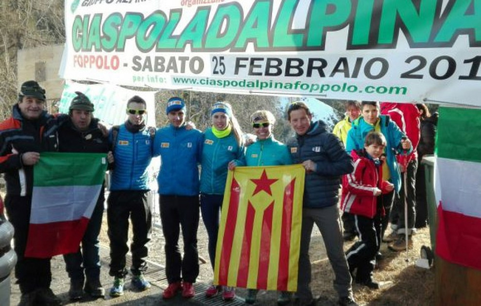 Selecció Catalana de Raquetes de Neu a la Ciaspoladalpina | FEEC
