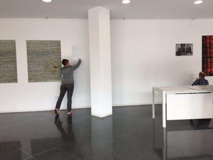 Muntant l'exposició