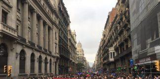 Imatge de la manifestació (Fotografia: Casa nostra, casa vostra)