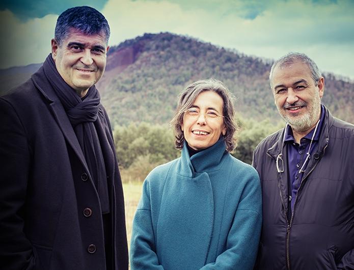 Rafael Aranda, Carme Pigem i Ramon Vilalta