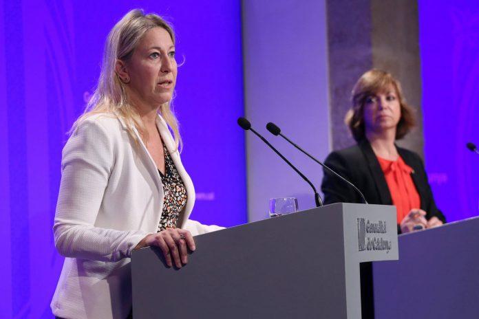 Foto de la roda de premsa. Autor: Jordi Bedmar