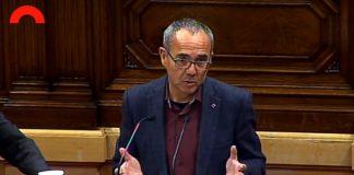 Joan Coscubiela defensant la proposta d'acord al Parlament | CSQP