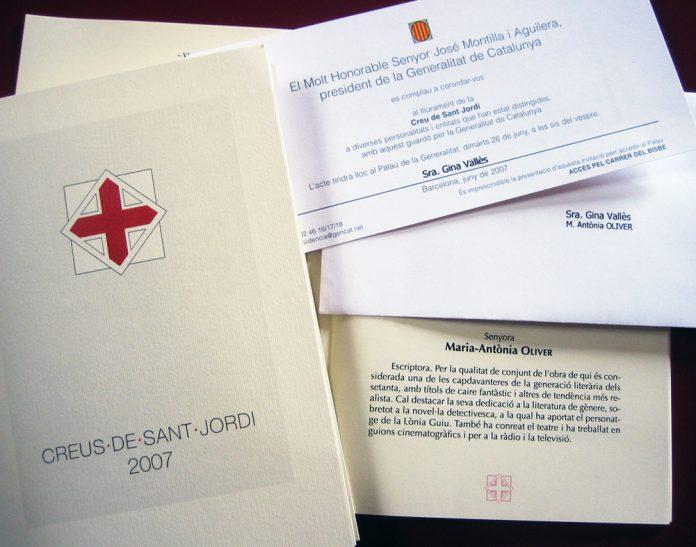 Creus de Sant Jordi de l'any 2007 | tinavalles (flicker)